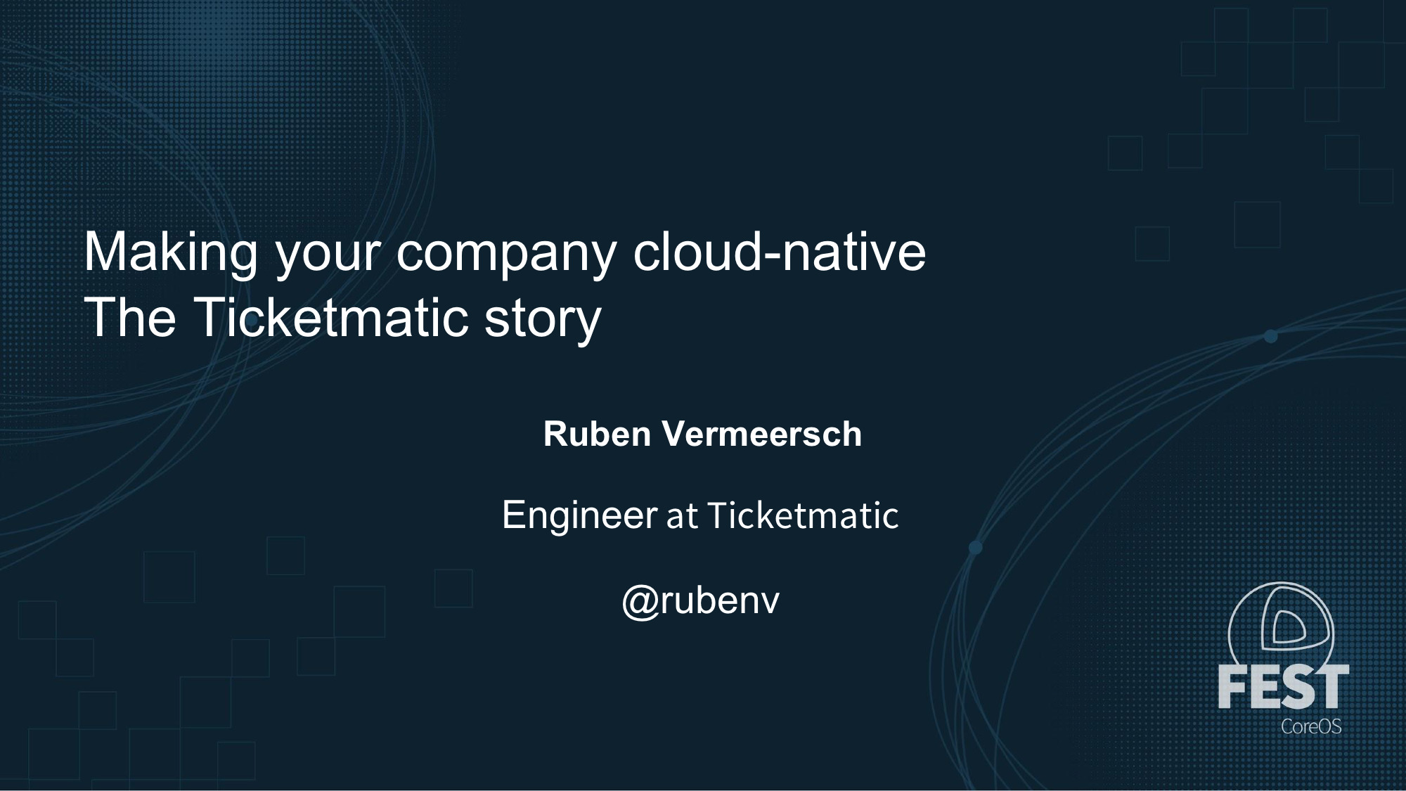 Making your company cloud‑native: the Ticketmatic story