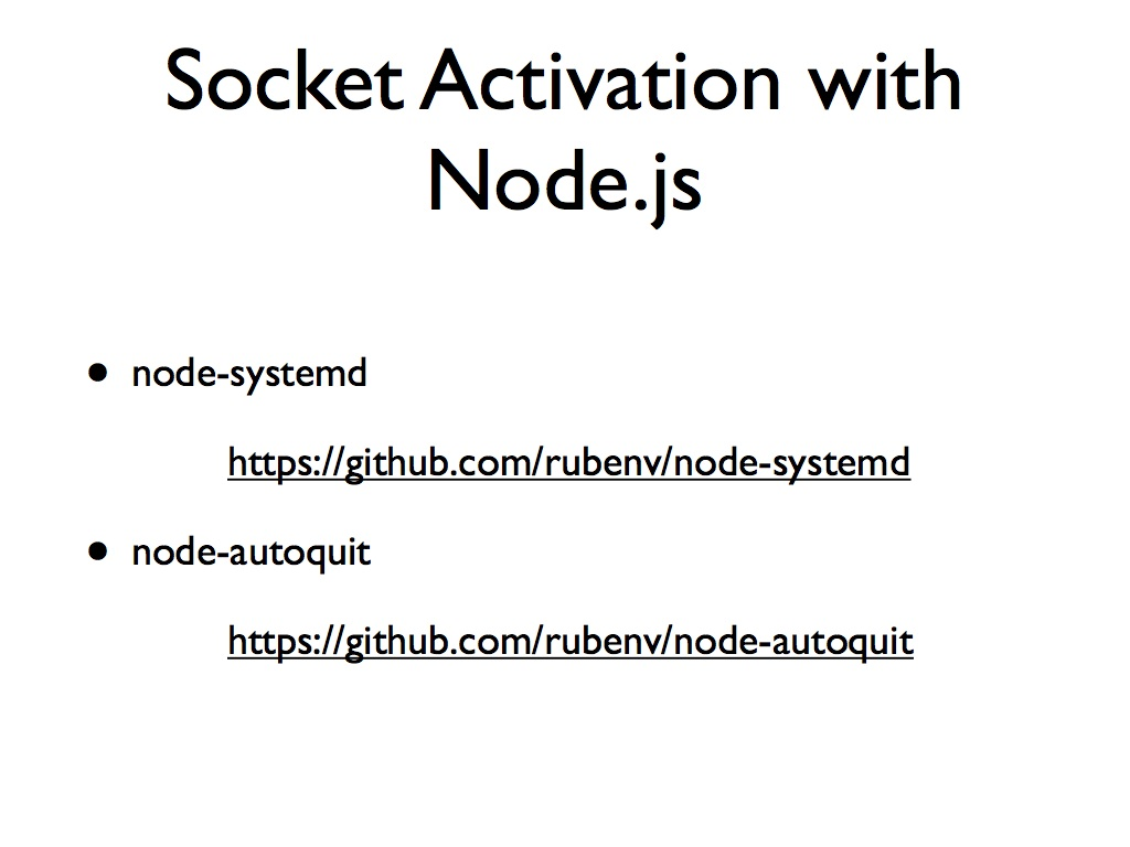 Deploying Node js with systemd · Ruben Vermeersch (rubenv)